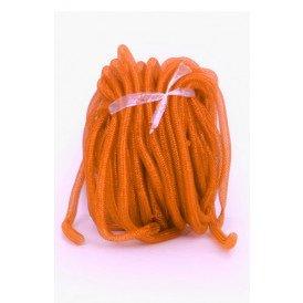 Decoslang tube op rol oranje Per 30 METER