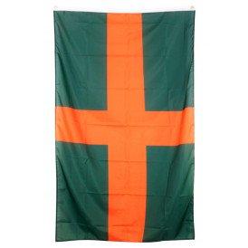 Vlag Vierdaagse oranje/groen