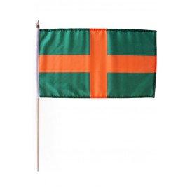 Handvlaggetje Vierdaagse oranje/groen