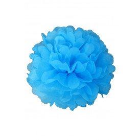Pom Poms baby blauw 25/35 cm