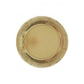 Borden goud per 8 stuks