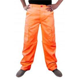 Broek neon oranje