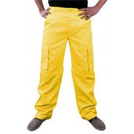 Broek neon geel