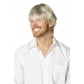 Herenpruik de luxe, blond