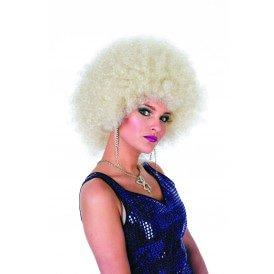 Afro kleine krul, blond