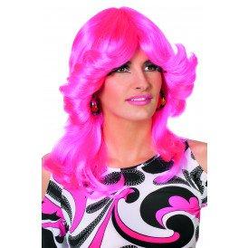 Sarah pruik, neon-pink