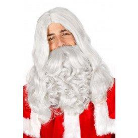 Kerstmannenpruik