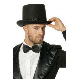 Hoge hoed luxe met elastiek