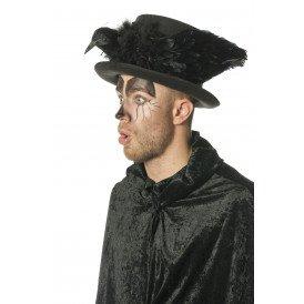 Hoge hoed kraai
