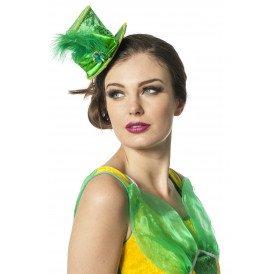 Mini hoed St. Patrick's , groen