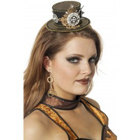 Hoed Steampunk mini
