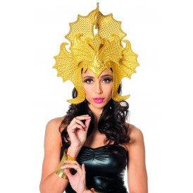 Samba tooi pailletten draak, goud