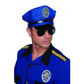 Politiepet kobalt, blauw