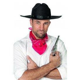 Cowboyhoed met studs, zwart