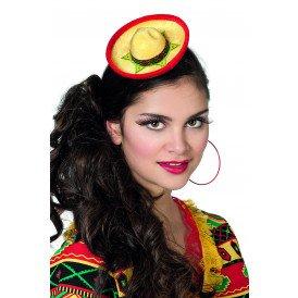 Mini Sombrero , geel