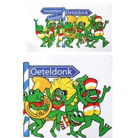Adhesive op naar Oeteldonk 57x30 cm