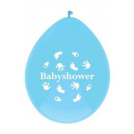 Ballonnen x 6 BABYSHOWER jongen