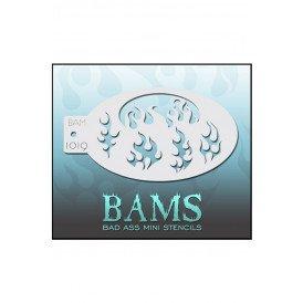 Bad Ass BAM stencil 1019