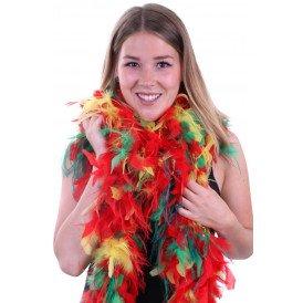 Boa brandveilig deluxe rood/geel/groen struis 180cm/100gr