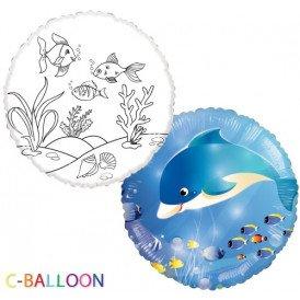 Vissen ballon