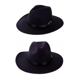 Cowboyhoed vilt Texas Ranger zwart