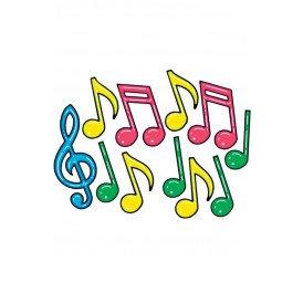 Decoratie muzieknoot