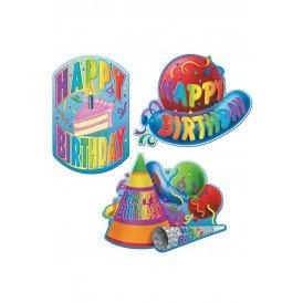 Deco papier Happy Birthday