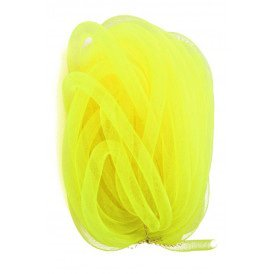 Decoslang tube op rol neon yellow 16mm