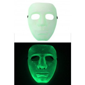 Gezicht masker glow in the dark