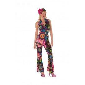 Hippie catsuit cirkel