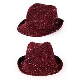 Saturooday night fever glitter hoed rood
