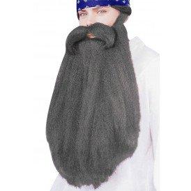 Mega baard met snor