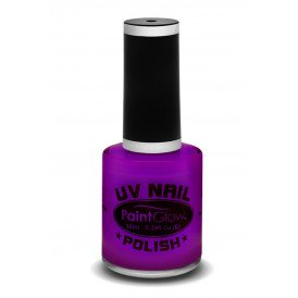 Neon UV nagellak violet