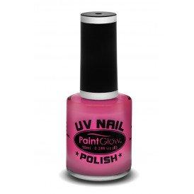 Neon UV nagellak pink
