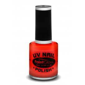 Neon UV nagellak rood