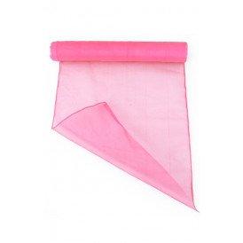 Organza baby pink 32 cm x 9 meter