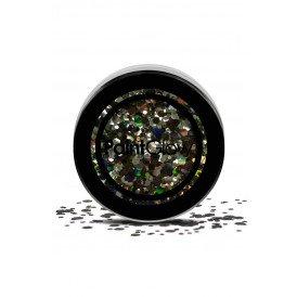 Chunky cosmetic glitters 3 gram Black Enchantress