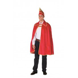 Prinsencape fluweel, rood
