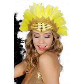 Samba tooi met pailletten en veren
