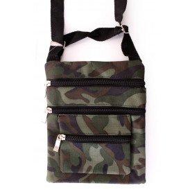 Schoudertas / bag camouflage print