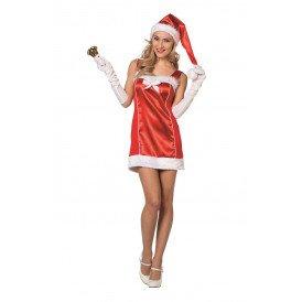 Sexy kerstvrouw