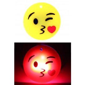 smiley kusje met licht