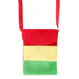 Tasje 'troepzak' rood/geel/groen