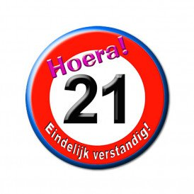 21e verjaardag