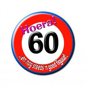 60 jaar verkeersbord