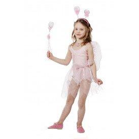 Verkleedset prinses incl. vleugels