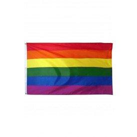 Vlag regenboog 90x150 cm