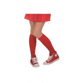 Voetbal sokken, rood