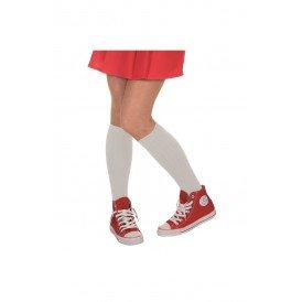 Voetbal sokken, wit