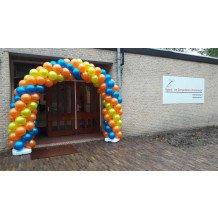 Openingsviering met ballonnen